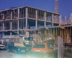 El edificio del ITQ en construcción