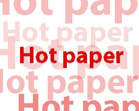 "Hot paper: ""Highly efficient catalyst for sun-powered"