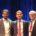 Manuel Moliner (ganador Young Researcher Award), Valentin Valtchev (Presidente de la IZA) y Mark Davis (ganador del Breck Award)